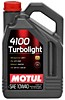 MOTUL 4100 Turbolight 10W-40 / 4 литра