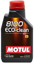MOTUL 8100 Eco-clean 0W-30 / 1 литр