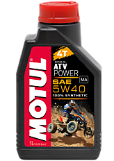 MOTUL ATV POWER 4T 5W-40 / 1 литр